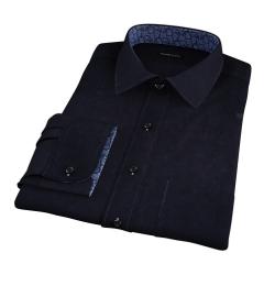 Black Heavy Oxford Custom Dress Shirt