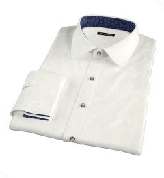 Canclini Cream Beacon Flannel Men's Dress Shirt
