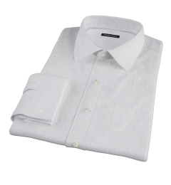 Blue Lavender Morton Grid Tailor Made Shirt