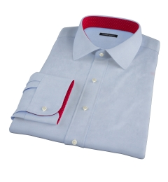 Light Blue Brushed Oxford Tailor Made Shirt