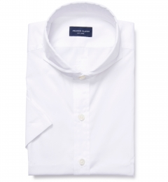 Mercer White Broadcloth Custom Made Shirt