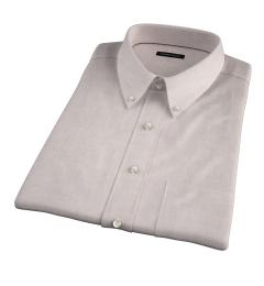Bleecker Beige Melange Short Sleeve Shirt