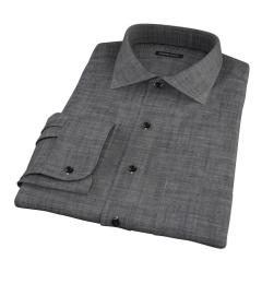 Black Denim Custom Made Shirt