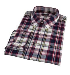 Dorado Navy Plaid Custom Made Shirt