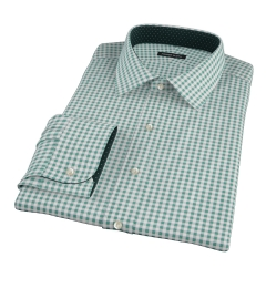 Lorimer Forest Green Check Dress Shirt