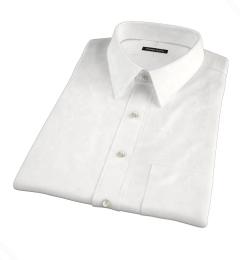 Mercer White Royal Oxford Short Sleeve Shirt