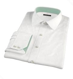 Redondo White Linen Fitted Shirt