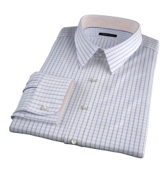 Cooper Pink on Blue Check Tailor Made Shirt
