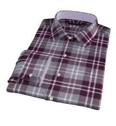 Scarlet and Cinder Large Plaid Flannel Dress Shirt
