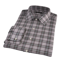 Jackson Olive Tartan Flannel Custom Made Shirt