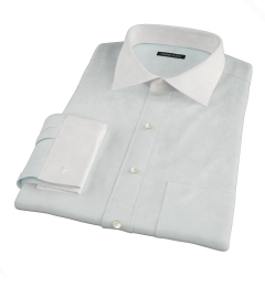Bowery Mint Wrinkle-Resistant Pinpoint Fitted Shirt