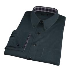 Teton Hunter Green Flannel Custom Made Shirt
