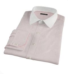 Mercer Pale Pink Broadcloth Dress Shirt