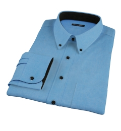 Crosby Light Blue Denim Men's Dress Shirt