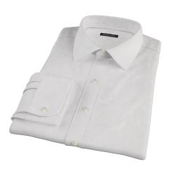 Canclini Light Pink Fine Stripe Custom Made Shirt