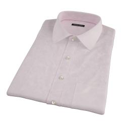 Light Pink Heavy Oxford Short Sleeve Shirt