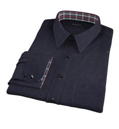 Black Chino Dress Shirt