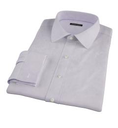 Thomas Mason Lavender Twill Men's Dress Shirt