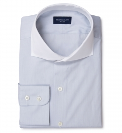 Canclini Light Gray End on End Dress Shirt
