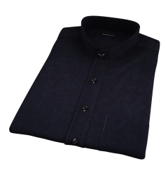 Black Heavy Oxford Short Sleeve Shirt