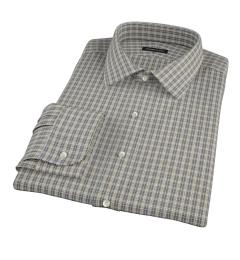 Honey Glazed Oxford Cloth Fitted Dress Shirt