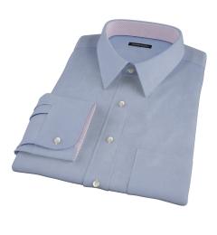 Blue Cavalry Twill Custom Made Shirt