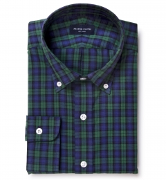 Black Watch Tartan Fitted Shirt