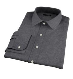 Canclini Cinder Beacon Flannel Men's Dress Shirt