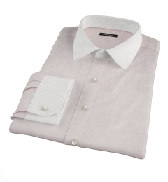 Bowery Pink Wrinkle-Resistant Pinpoint Tailor Made Shirt