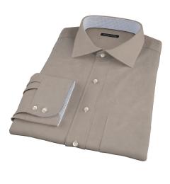 Olive Chino Custom Made Shirt