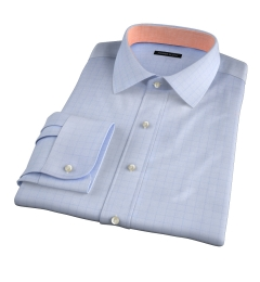 Thomas Mason Goldline Prince of Wales Check Custom Made Shirt