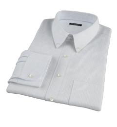 Mercer Light Blue Medium Grid Dress Shirt