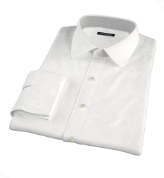 Thomas Mason Goldline White Royal Oxford Dress Shirt