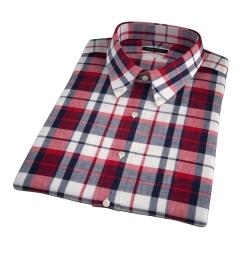 Dorado Red Plaid Short Sleeve Shirt