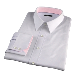Modena Aqua and Apricot Tattersall Tailor Made Shirt