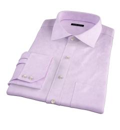 Mercer Lavender Pinpoint Tailor Made Shirt