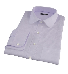 Lilac Heavy Oxford Cloth Tailor Made Shirt