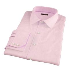 Morris Pink Wrinkle-Resistant Houndstooth Custom Made Shirt