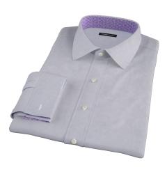 Grey 100s End-on-End Men's Dress Shirt