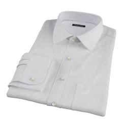 Wrinkle Resistant Lavender Multi Stripe Tailor Made Shirt