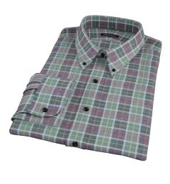 Green Dock Street Flannel Men's Dress Shirt