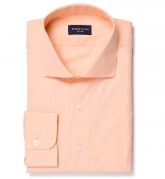 Genova 100s Apricot End-on-End Custom Dress Shirt