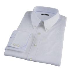 Canclini Blue Fine Stripe Dress Shirt