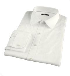 Greenwich Ivory Broadcloth Custom Made Shirt