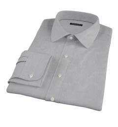 Jones Charcoal Grey End-on-End Men's Dress Shirt