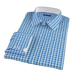 Canclini San Sebastian Plaid Custom Dress Shirt