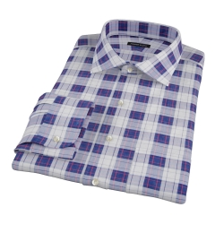 Canclini Etna Plaid Custom Dress Shirt