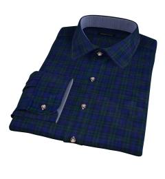 Wythe Blackwatch Plaid Custom Made Shirt