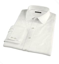 Ivory Regal Twill Custom Dress Shirt