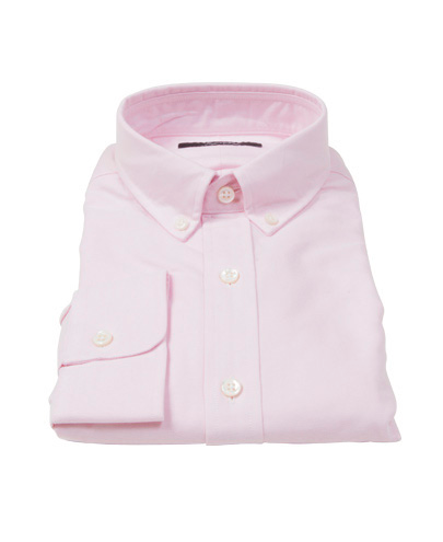 Light Pink Heavy Oxford Men's Dress Shirt